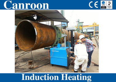 40kw 80kw 120kw pipe heat treatment induction welding preheat equipment with C type inductor in pipeline industry
